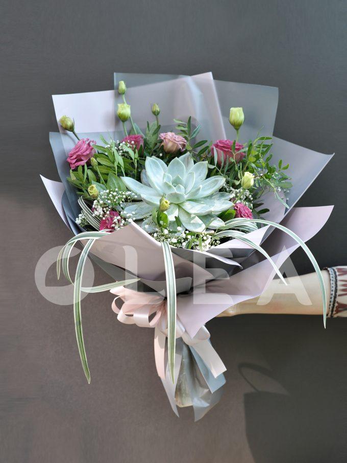 Succulent bouquet in KL