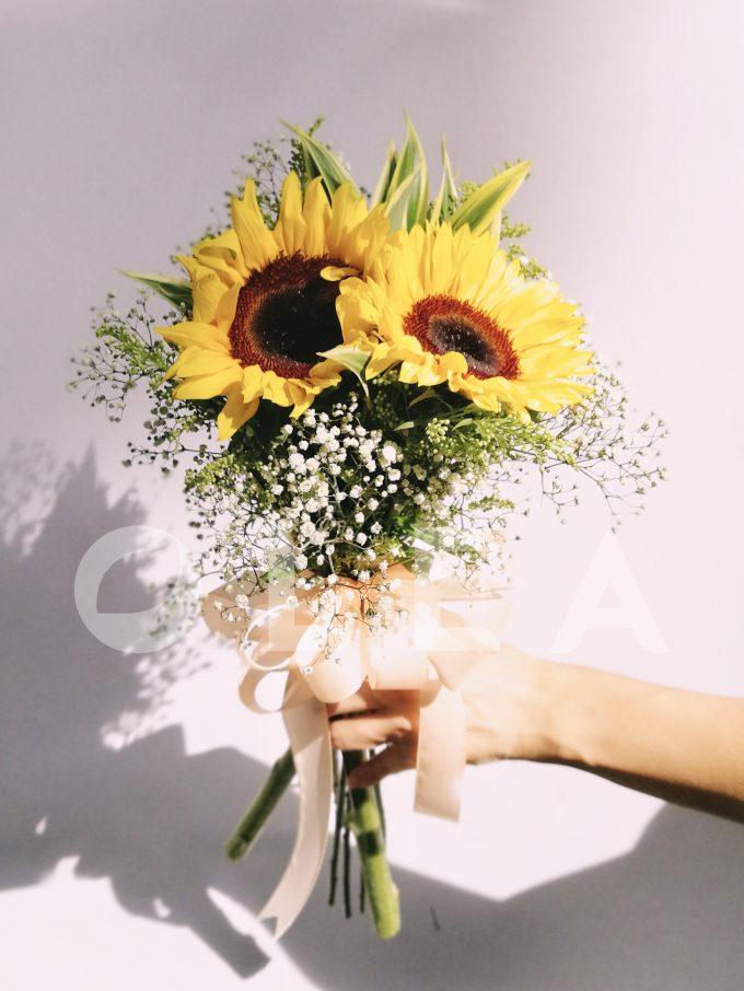Sunflower Bridal bouquet in KL