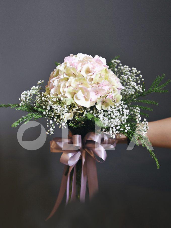 Hydrangea Bridal bouquet in KL
