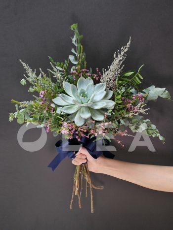 succulent wedding flowers in KL