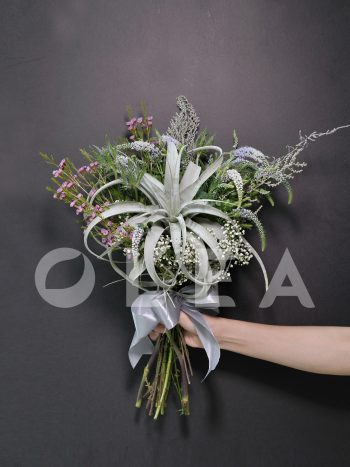 Air Plant bridal bouquet in KL