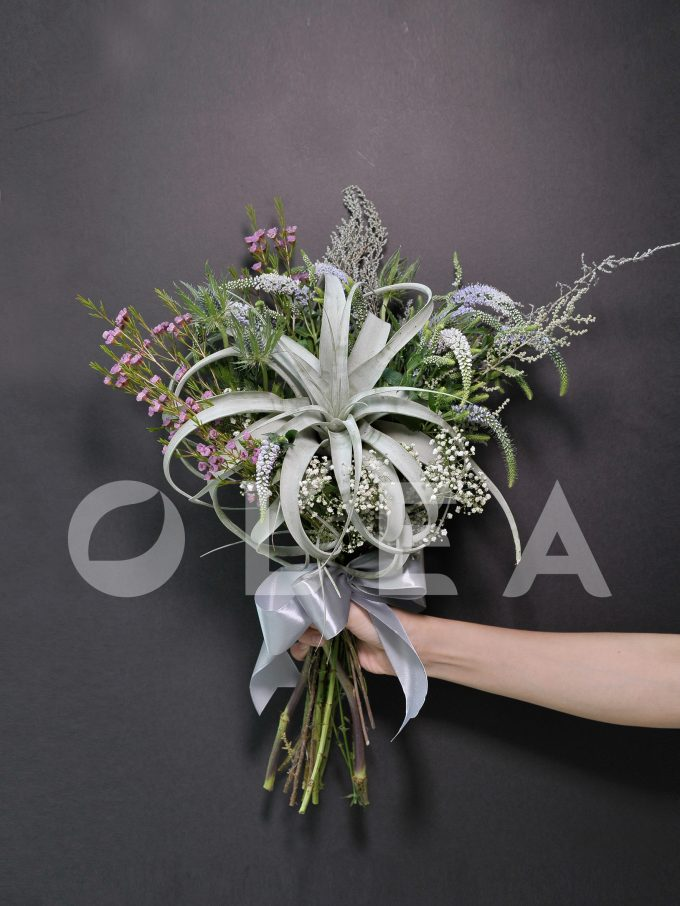 Air Plant bridal bouquet in KL