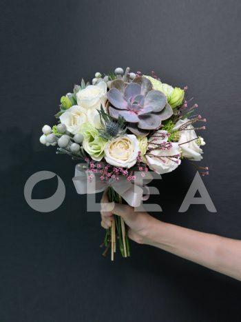 Succulent wedding bouquet in KL
