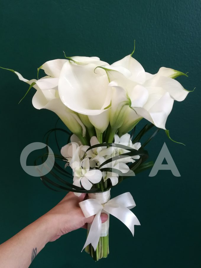Lily bridal bouquet in KL