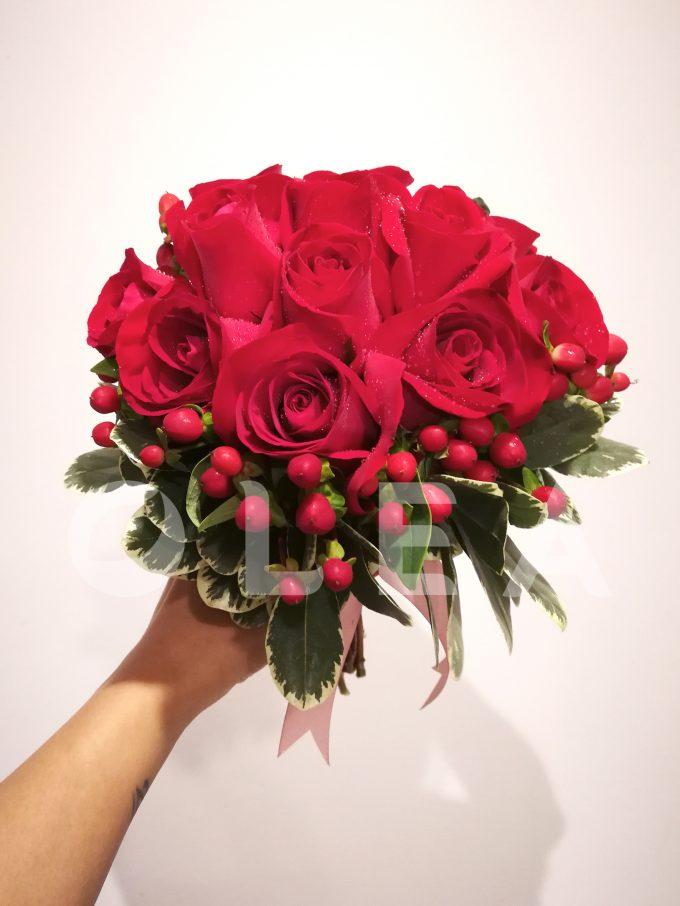 Bridal bouquet in KL